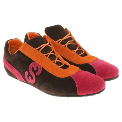 Escada Suede lace-up shoes