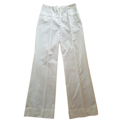 Van Laack Marlene trousers white with high tie