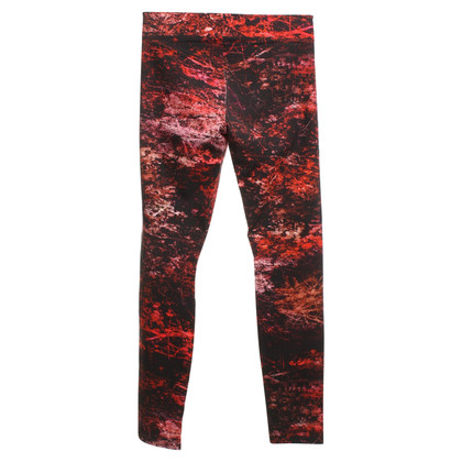 Helmut Lang Leggings in zwart / Red