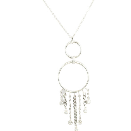 Bliss Silver necklace '' Gipsy ''