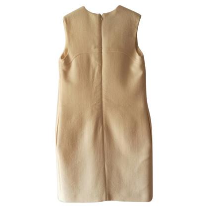 Giambattista Valli Mouwloze jurk in crème