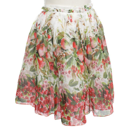 Red Valentino Issued skirt with print