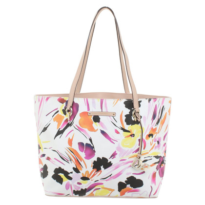 Diane von Furstenberg Shopper with a floral pattern