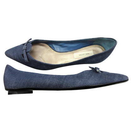 Marc Jacobs Denim Ballerinas