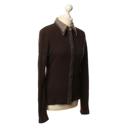 Fendi Strickjacke in Braun