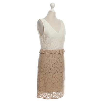 Max Mara Lace dress in bicolor