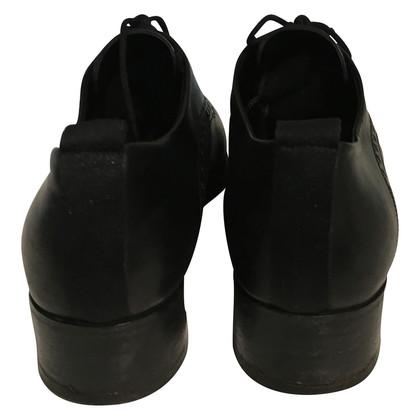 Jil Sander Lace-up schoen in zwart