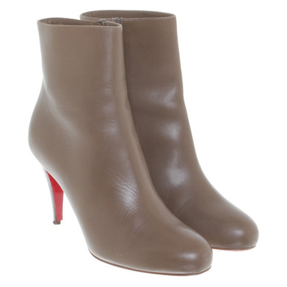 Christian Louboutin Khaki ankle boots