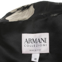 Armani Collezioni Blazer in Nero / Grigio