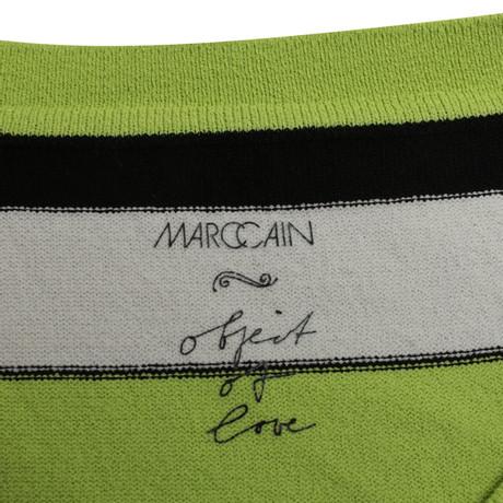 Streifenmuster Marc Marc Bunt mit Muster Cain Cain Longshirt q4P5xwRXP
