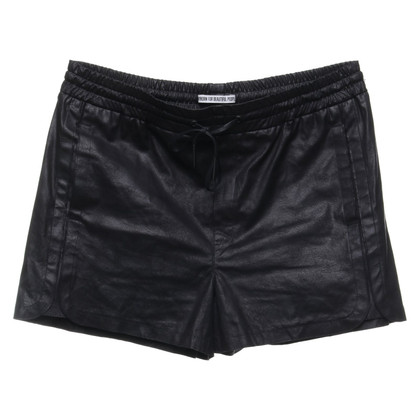 Drykorn Shorts in Leder-Optik