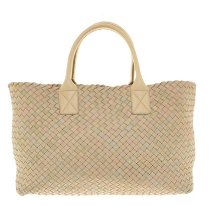 "Bottega Veneta ""Cabat Tote Bag Large"" in Nude"