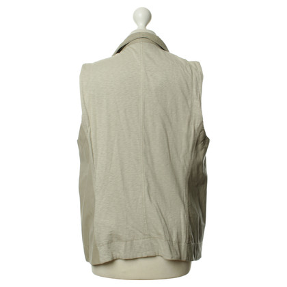 Donna Karan Oversized vest in grijs