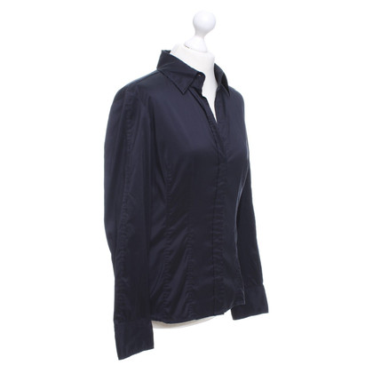 Hugo Boss Bluse in Dunkelblau