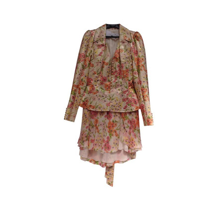 Christian Dior Floral silk costume