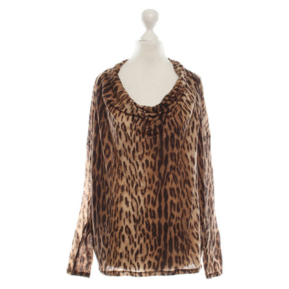 Michael Kors Lightweight blouse with animal print