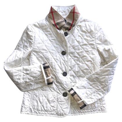 Burberry Giacca trapuntata in bianco