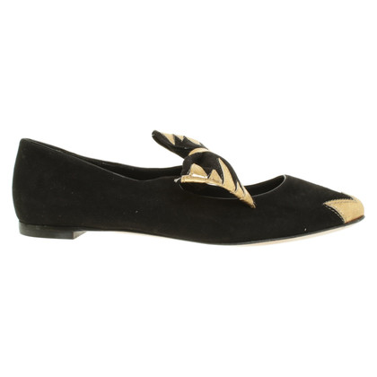 Aperlai Ballerinas in black