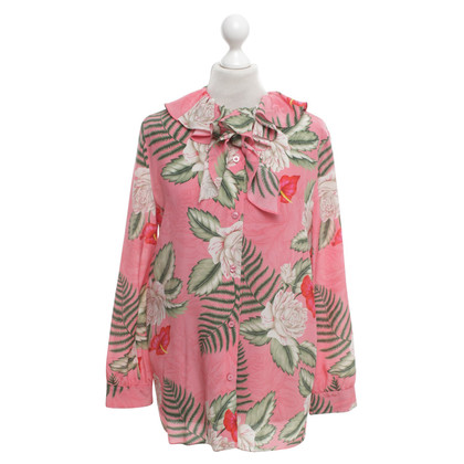 Gucci Zijden blouse in Multicolor