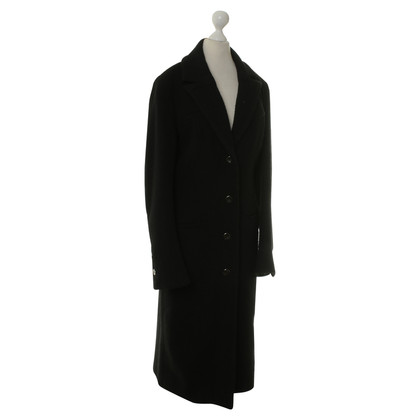 Versus Coat in black