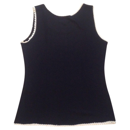 Fendi Viscose top met kant