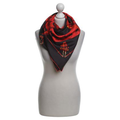 "Hermès Scarf ""Paris qui Roule"" made of silk"