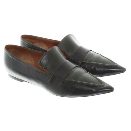 Céline Loafer in Grün/Blau