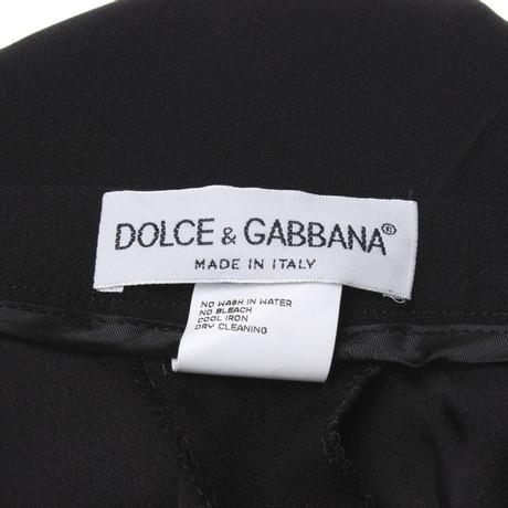 Hose Hose Schwarz in Dolce Dolce Gabbana amp; Gabbana in Schwarz amp; n0wSd77Tq