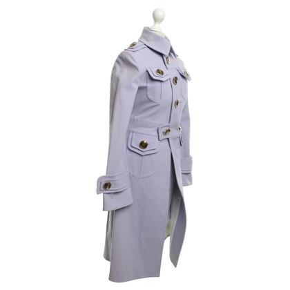 Dsquared2 Kleid & Trenchcoat in Flieder