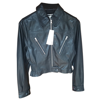 McQ Alexander McQueen leather jacket