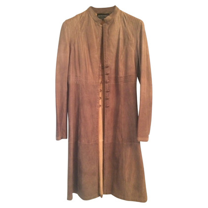 Armani Trench in pelle