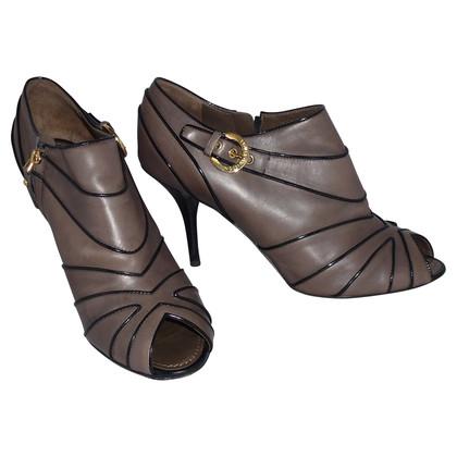 Louis Vuitton Stivali alla caviglia Peeptoe