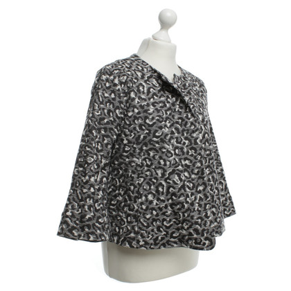 Odeeh Blazer with animal pattern