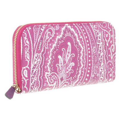 Etro Wallet with paisley pattern
