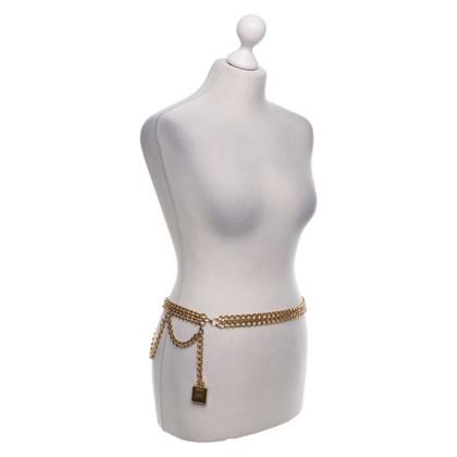 Chanel Cintura catena color oro