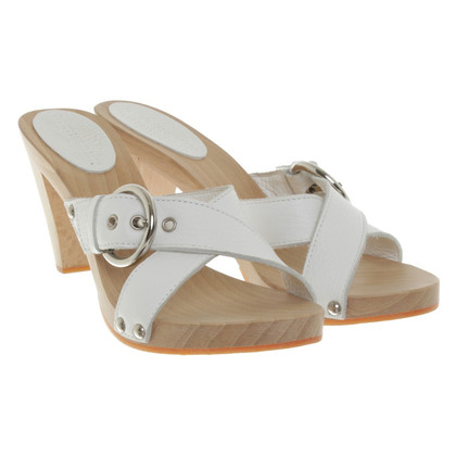 Burberry Sandals in White