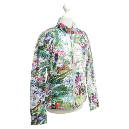 Other Designer Colmar - Quilted Jacket with Printmuster