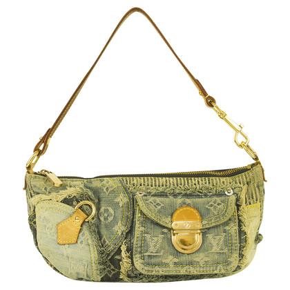Louis Vuitton Lappendeken denim handtas