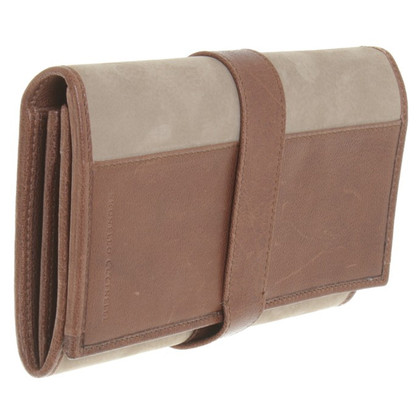 Brunello Cucinelli Wallet in taupe / brown