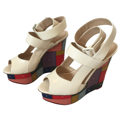 Charlotte Olympia Wedges in multicolor