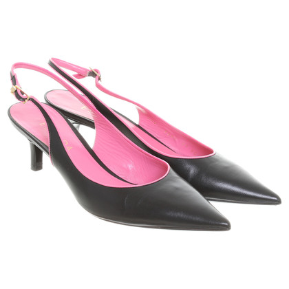 Escada Slingbacks in zwart