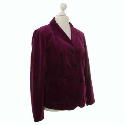 Blonde No8 Blazer in violet