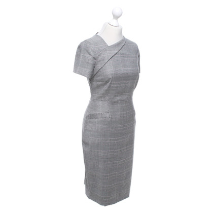 L.K. Bennett Pencil dress with glencheck pattern