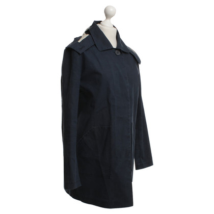 Armani Jeans Coat in dark blue