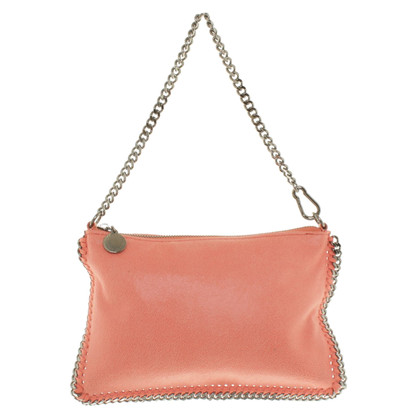 Stella McCartney clutch in salmon colors
