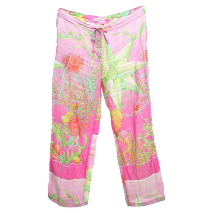 Iris von Arnim trousers with large-area pattern