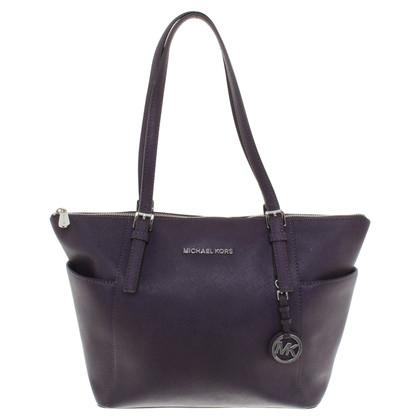 michael kors handtasche in lila second hand michael kors handtasche in lila gebraucht kaufen. Black Bedroom Furniture Sets. Home Design Ideas