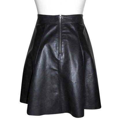 Oakwood leather skirt