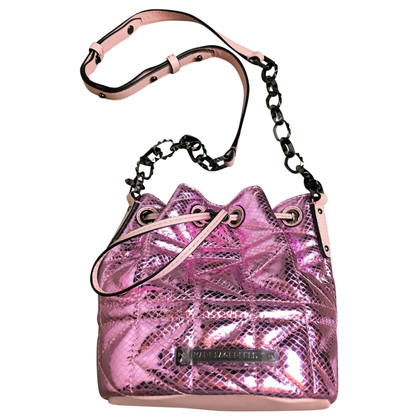 Karl Lagerfeld Quilted Pouch Bag