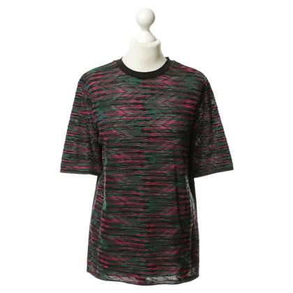 Missoni Pattern knitted cotton shirt